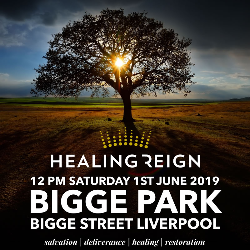 Healing Reign Outreach – 1st June 2019