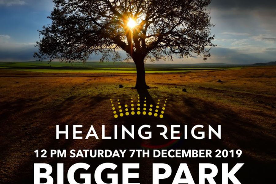 Healing Reign outreach, Saturday 7th December 2019